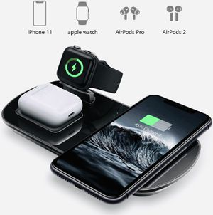 3 in 1 Wireless Charger, IPhone/Android/Samsung, AirPods, and Headphones. for Sale in Tempe, AZ