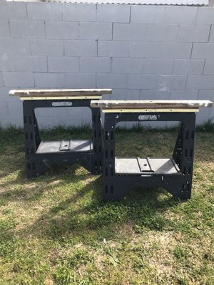 2 folding saw horses for Sale in Whittier, CA