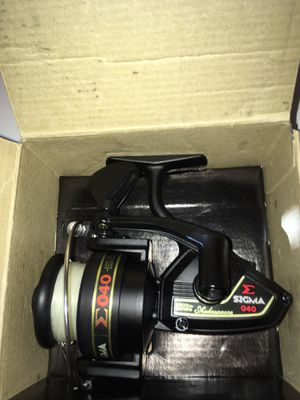 """Shakespeare """"Sigma 040"""" fishing reel for Sale in Oakley, CA"""