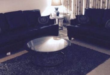 Black Leather Sofa And Loveseat - Excellent Like New for Sale in San Jose,  CA