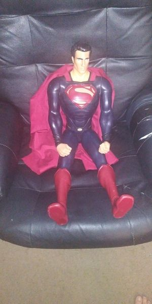 "31.5"" Giant Super Man doll. M&DC Comics for Sale in Wittmann, AZ"
