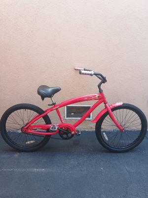 $200 OBO I'm in Santa Ana CA inferno Nirve Beach cruiser size 24 for Sale in Santa Ana, CA