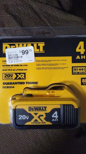 DeWALT 20VMqx Lithium ION XR 4AH for Sale in Oregon City, OR