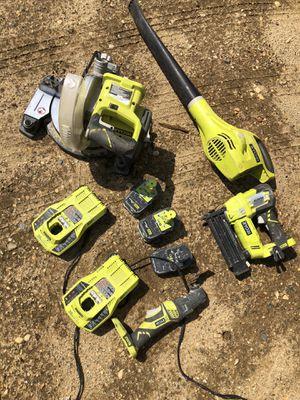 Ryobi cordless tools for Sale in Monroe Township, NJ