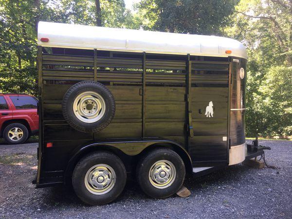 Livestock trailer used for horses, good shape. $2800