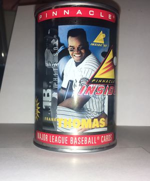 Frank Thomas 1997 Pinnacle MLB unopened can of cards. for Sale in Santa Clara, CA
