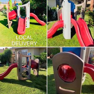 little tikes playground climber with kids slides for Sale in Fontana, CA