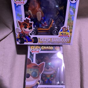 Crash Bandicoot Funko Pops for Sale in Clarksburg, CA