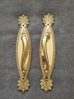 Antique Brass Door Pulls for Sale in Silver Spring, MD