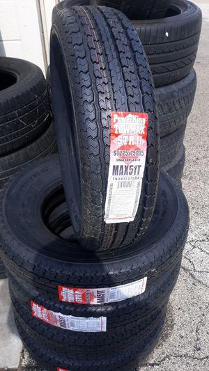 Trailer Tires st225 7515 for Sale in Lake Villa, IL