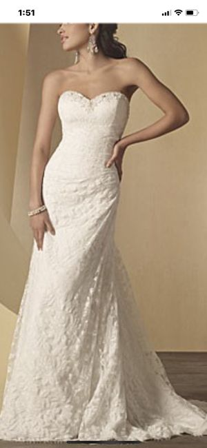 Alfred Angelo wedding gown brand new for Sale in Quincy, MA
