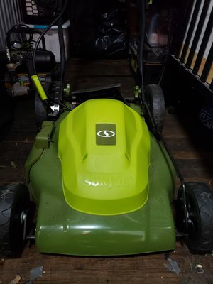 Sunjoe electric lawn mower for Sale in New York, NY