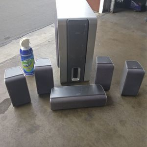 RCA Speaker Set with Subwoofer for Sale in Riverside, CA