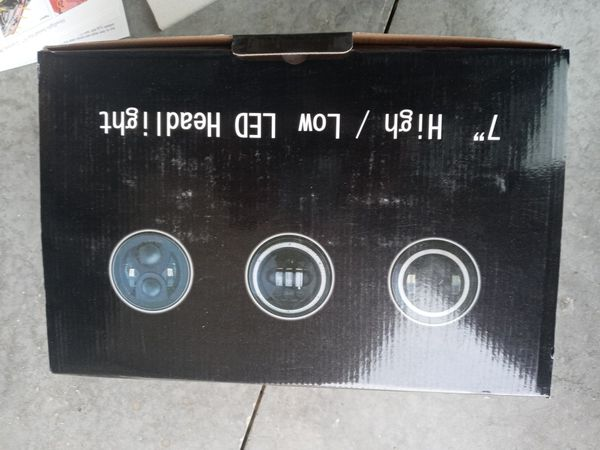 """7"""" High/Low Led headlights For jeep wrangler"""