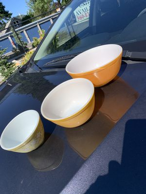 Vintage Pyrex Bowl Lot for Sale in Washougal, WA