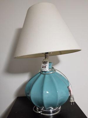 New Blue Ceramic Table Lamp for Sale in Norfolk, VA