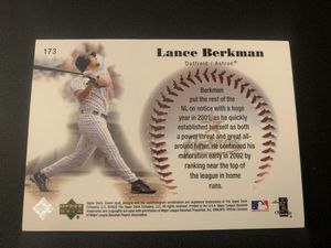 Lance Berkman Upper Deck for Sale in Houston, TX