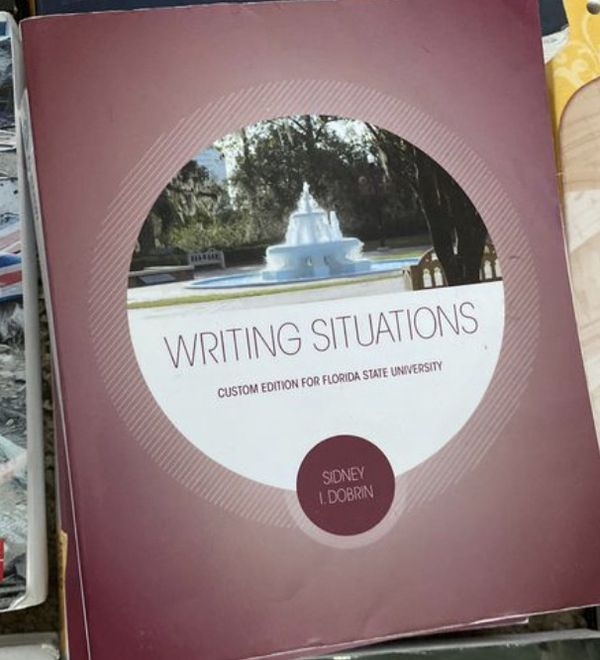 FLORIDA STATE UNIVERSITY TEXT BOOKS 3 copies