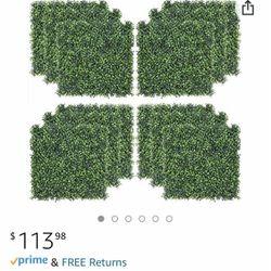 Artificial Hedge Plant Grassy Background - 4 Squares for Sale in El Cajon,  CA