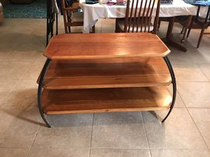 Solid Wood Media / TV Table Console Stand for Sale in Cape Coral, FL
