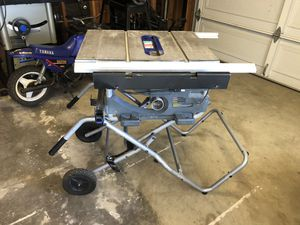 Job Site Table Saw for Sale in Murrieta, CA