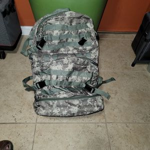 Military ACU Digital Backpack With 4 Storage Compartments for Sale in San Antonio, TX