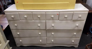 Nice Vintage Lowboy Dresser - Delivery Available for Sale in Tacoma, WA