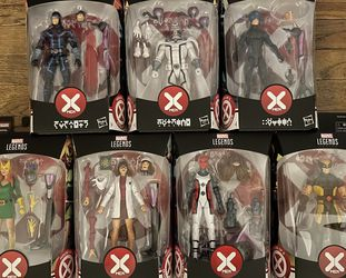 "New Marvel Legends 6"" X-Men House Of X Tri-Sentinel Build A Figure Complete Set for Sale in Los Angeles,  CA"