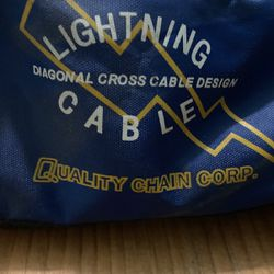 Never Used Lighting Cables - See Next Photo For Tire Size Options for Sale in Hillsboro,  OR