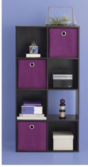 8-Cube Organizer Shelf - Expresso (3 available) for Sale in Snohomish, WA