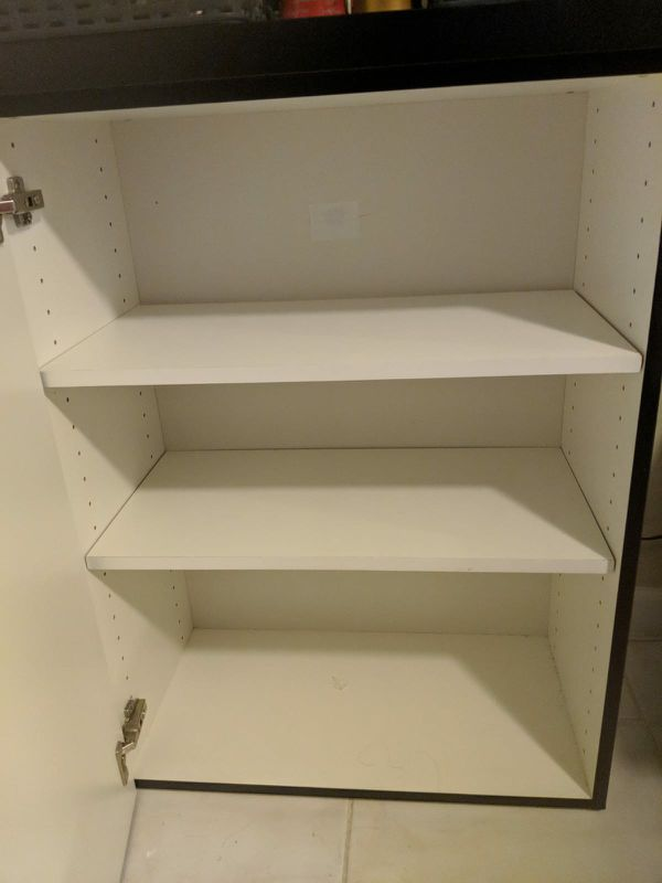 Small shelf with doors