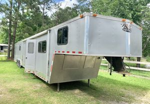 2005 vintage race car trailer and sleeper for Sale in Baytown, TX