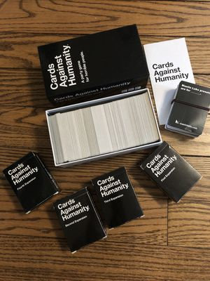 Cards Against Humanity with 4 Expansions for Sale in Glenview, IL