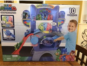 NEW: PJ Masks Save the Day Headquarters HQ Lights Sounds Mission Controller Kids Toy for Sale in Sandy, UT