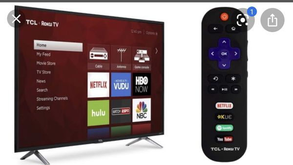 TCL ROKU SMART TV 49' Brand New, 1 yr old in Box