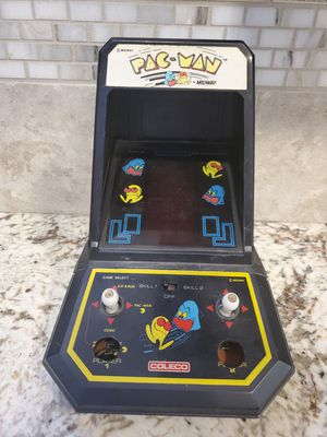 1981 Coleco Midway Pac-Man Table Top Arcade Video Game for Sale in Fresno, CA