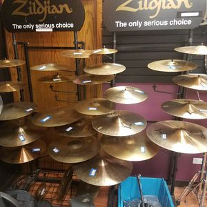 Used cymbals! Zildjian, Sabian, Paiste, HHX, Dream and more for Sale in Orland Park, IL