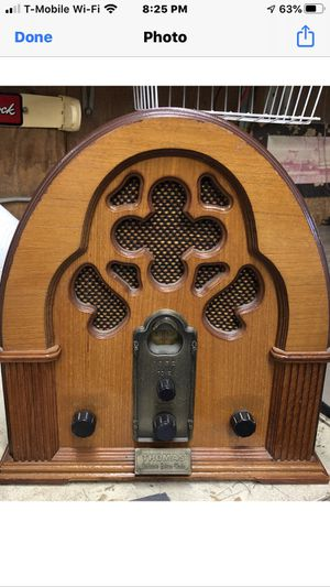 Thoma 1932 antique am/fm radio and cassette player for Sale in La Habra, CA