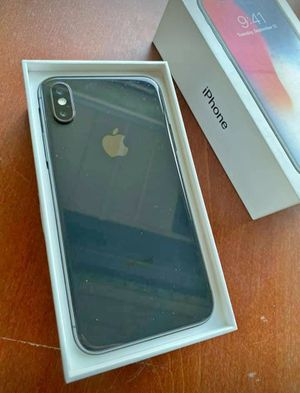 Apple iphone x black 256gb for Sale in St. Louis, MO