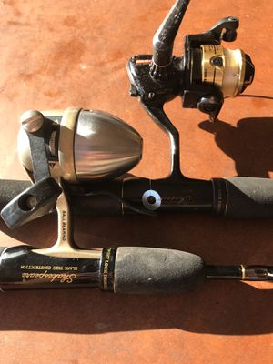 1 Spinning Rod and Reel Combo and 1 Microspin Combo for Sale in Plainfield, IL
