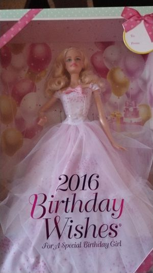 Birthday Wishes Barbie for Sale in Bangor, ME