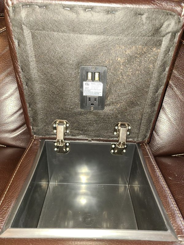 Vinyl Love Seat Dual Recliner