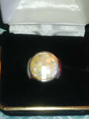 Mother of Pearl Thick Band Ring for Sale in Beaumont, TX