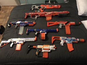 Nerf Guns For Sale .. Will Sell Individually!! for Sale in Coral Gables, FL
