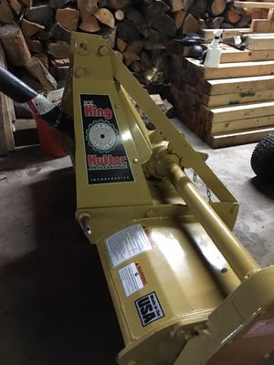 "King Kutter 60"" Tiller Gear Driven professional for Sale in Puyallup, WA"