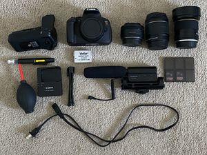 Canon Rebel T5i (bundle) for Sale in Goleta, CA