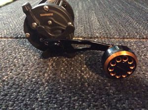 Shimano TR 200G Deep sea casting Reel with Custom Power Handle... Brand New for Sale in Corona, CA