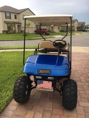 EZGO Golf Cart (A.K.A. Big Blue) for Sale in Melbourne, FL