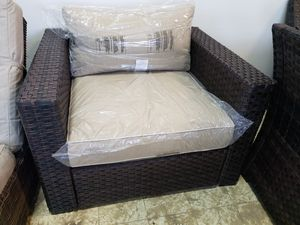 New outdoor patio furniture club chair tax included for Sale in Hayward, CA