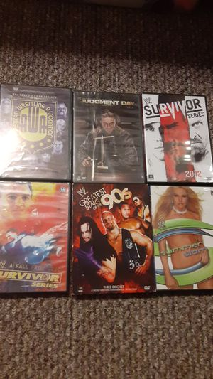Wrestling dvds for Sale in Chicago Ridge, IL